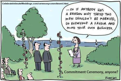 Commitment Cartoon