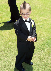 Mason, the Ring Bearer